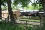 The Limes, High Mill Pickering & British Railways 9F 92214