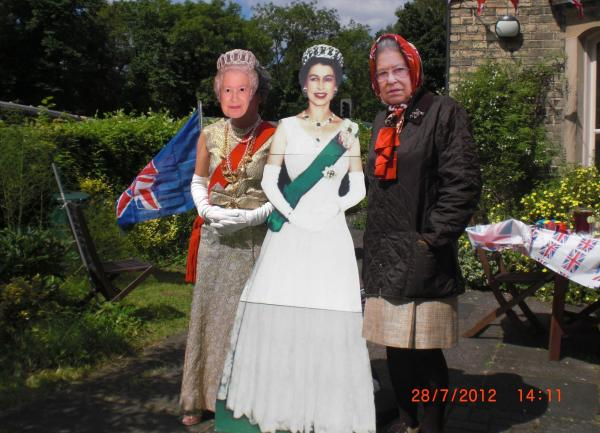 Royal visit to High Mill Pickering on jubilee day