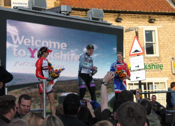MTB World Cup racing in Pickering town centre and Dalby Forest