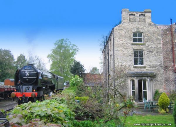 Tornado at High Mill Pickering. Pickering holiday cottages